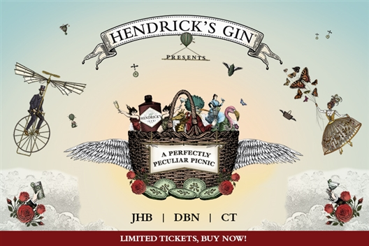 Hendrick's Gin presents A Perfectly Peculiar Picnic at The Belmond Mount Nelson Hotel CPT